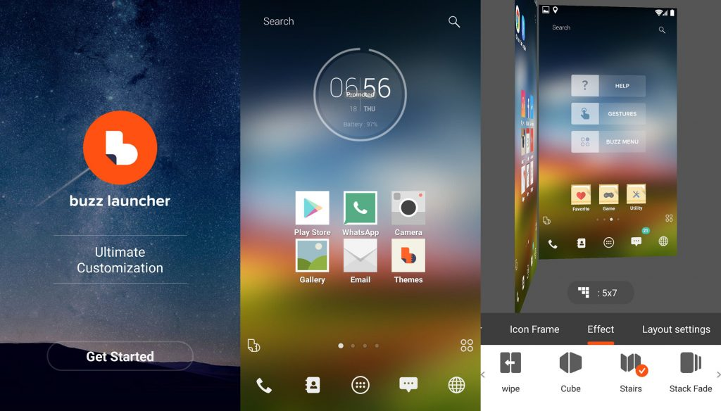 buzz-launcher-smart-free-theme-android